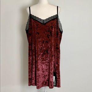 Cacique Velvet Sleep Dress